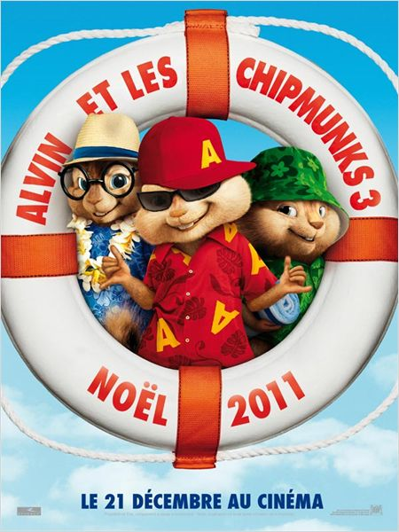 affiche Alvin 3