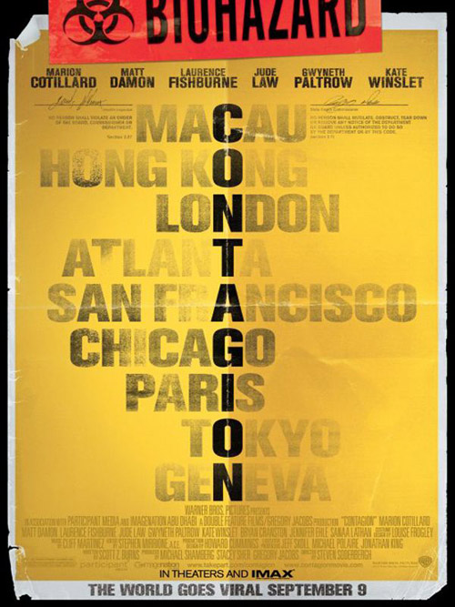 Contagion affiche