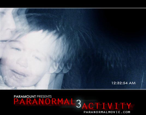 Paranormal affiche US