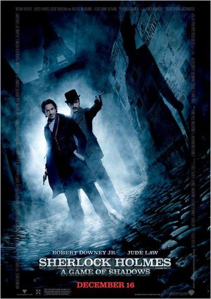 Sherlock Holmes 2 affiche