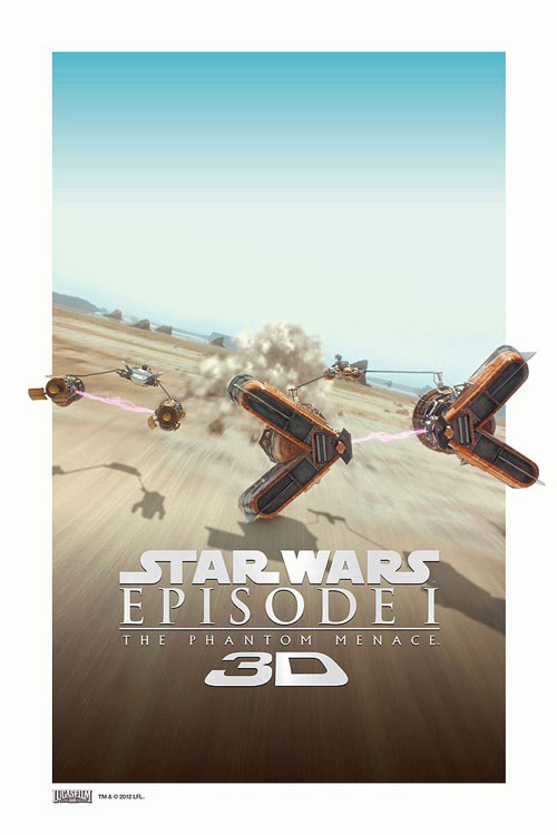 course de Podracers en 3D