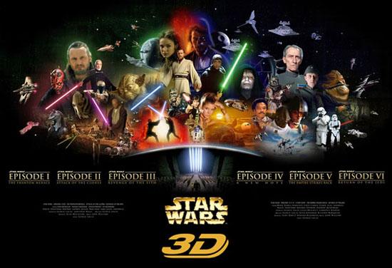 saga Star Wars 3D