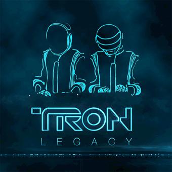 jaquette de l'OST de Tron Legacy