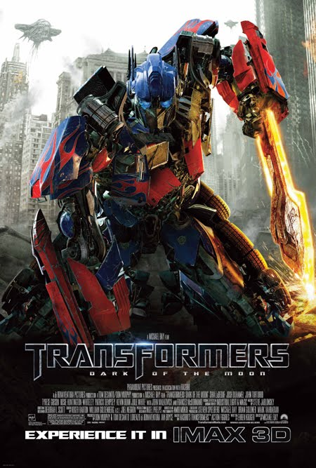 affiche imax Transformers 3