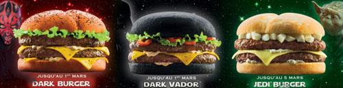 Burgers Star Wars