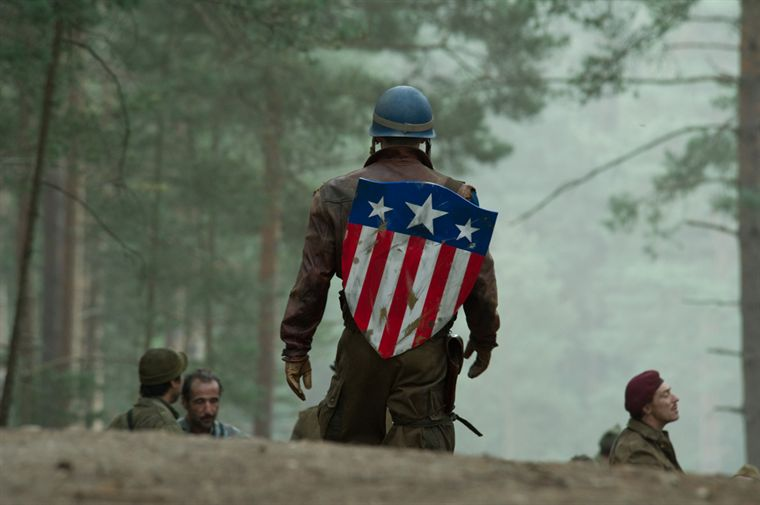Captain America de dos
