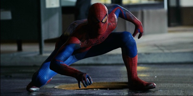 Spider-man en action!