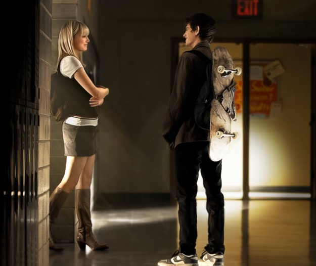Gwen Stacy et Peter Parker