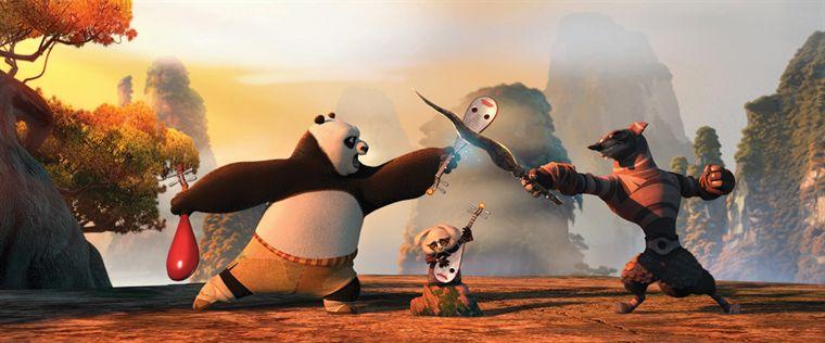 kun Fu panda 2 image