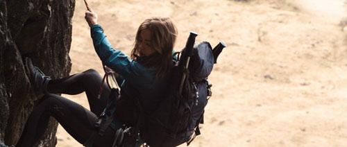 Melissa George en action