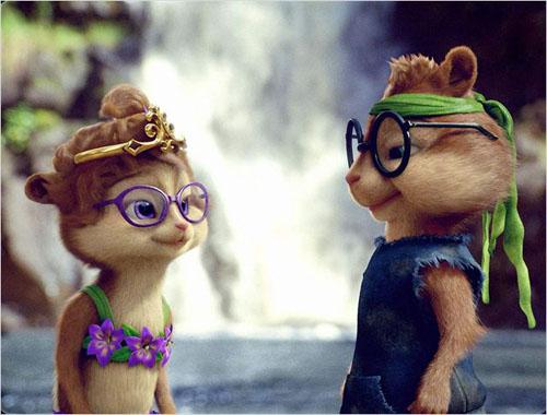 les Chipmunks 3