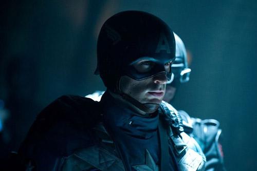 Chris Evans en Captain America
