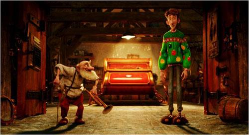 Arthur et grand-père Noël