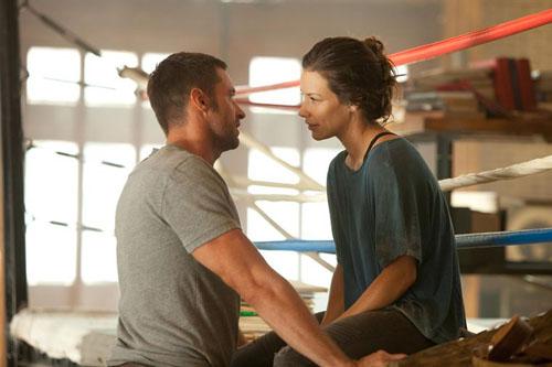 Hugh Jackman et Evangeline Lilly