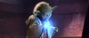 L'attaque des clones: duel final Yoda Count Doku (Christopher Lee)