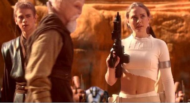 L'attaque des clones: Padme Amidala (Nathalie Portman)