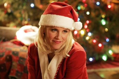 Jenny McCarthy en Fille du Père Noël