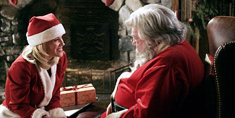 Jenny McCarthy et son Père Noël