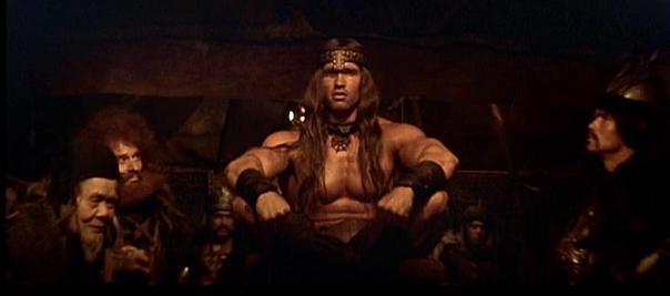 Conan le barbare: Conan (Arnold Shwarzeneger)