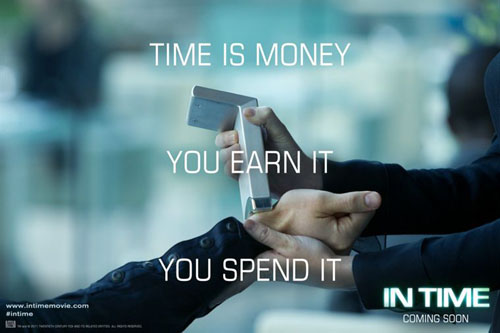 Time is money, you earn it you spend it