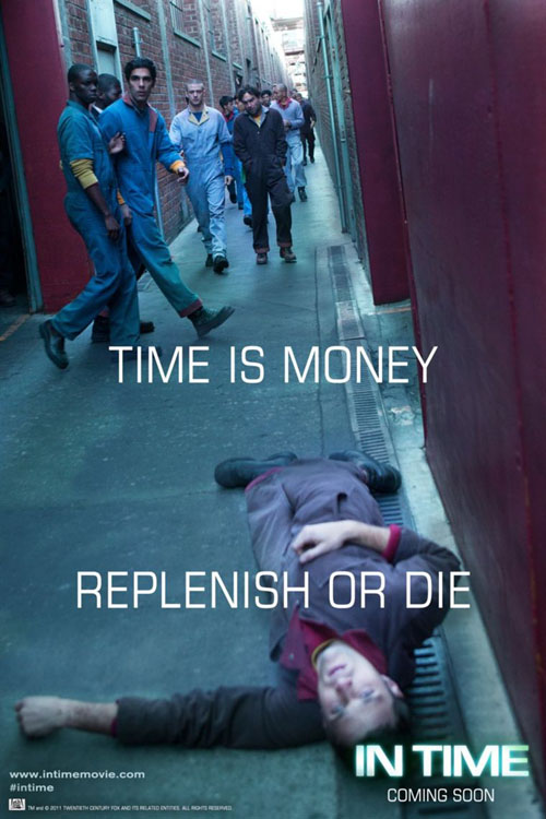Time is money, replenish or die