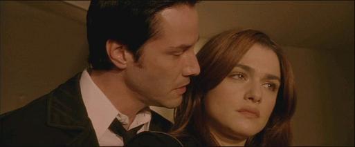 Constantine: John Constantine (Keanu Reeves) et Angela Dodson (Rachel Weisz)