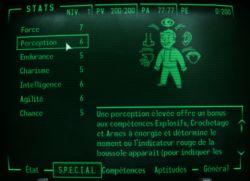 Fallout 3: création de personnage.