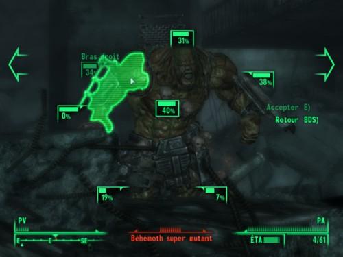 Fallout 3: système SVAV