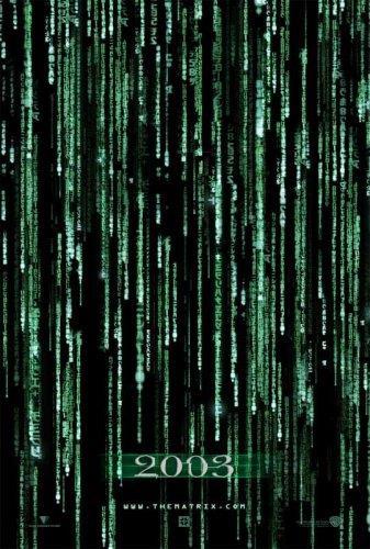 "Affiche ""The Matrix Reloaded"""