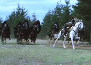 course poursuite à cheval