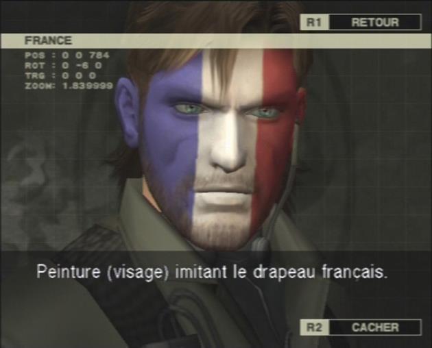 Snake aux couleurs de la France !