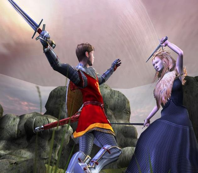 Le jeu version PS2.