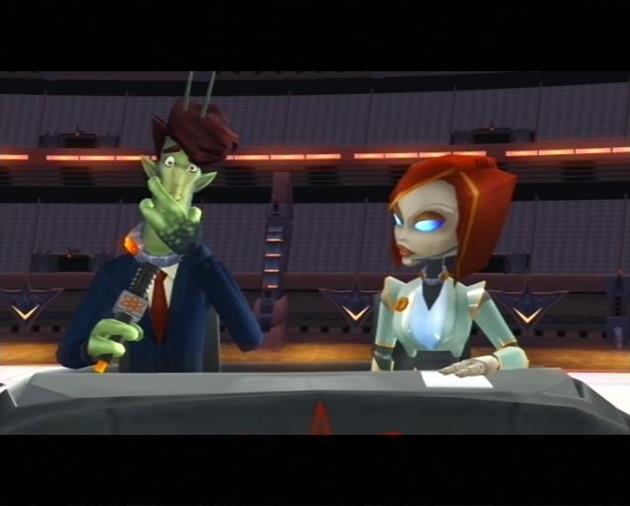 Des personnages loufoques témoignants de l'humour du jeu.