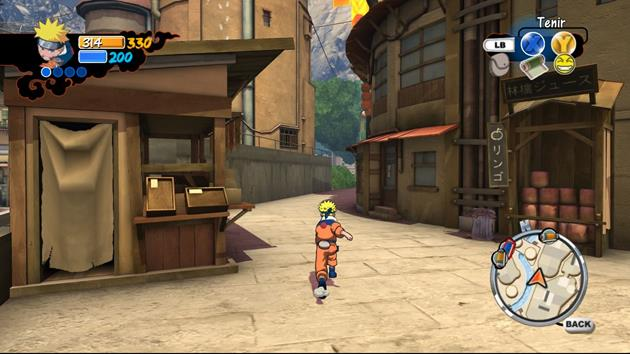 Naruto x-Box 360 - img 02