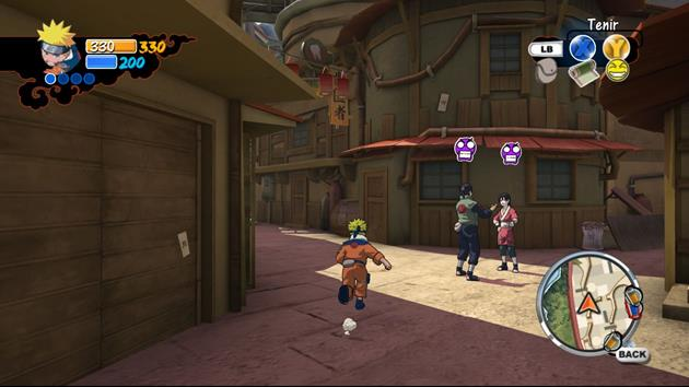 Naruto x-Box 360 - img 04