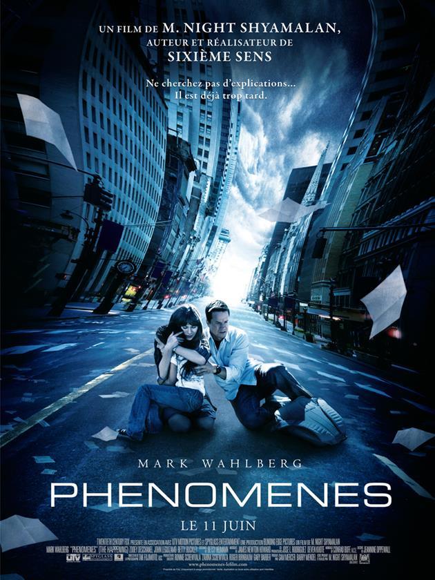 Phenomenes affiche 01