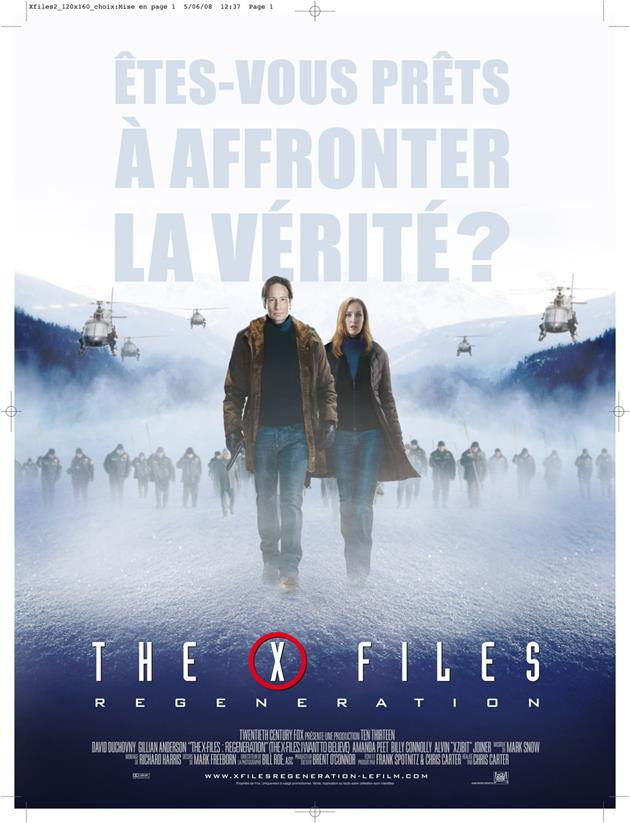 Affiche X-files - 01