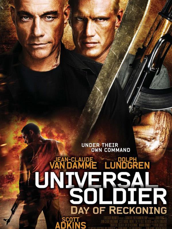 Affiche Universal Soldier Le Jour Du Jugement - Version USA