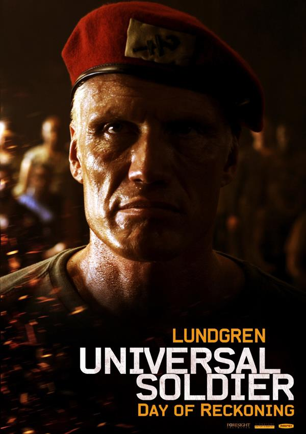 Affiche Universal Soldier Le Jour Du Jugement - Lundgren