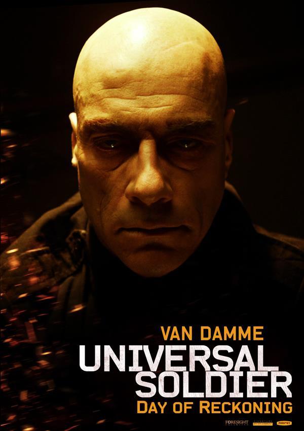 Affiche Universal Soldier Le Jour Du Jugement - Van Damme