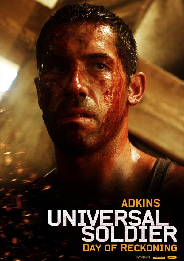 Affiche Universal Soldier Le Jour Du Jugement - Adkins