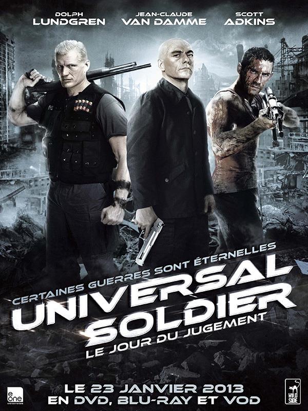 Affiche Universal Soldier Le Jour Du Jugement - Certaines guerres sont éternelles