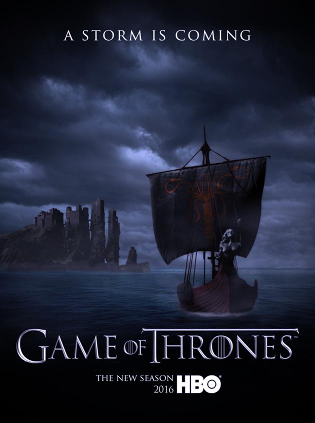Affiche Promotionnelle saison 6 - A Storm is Coming