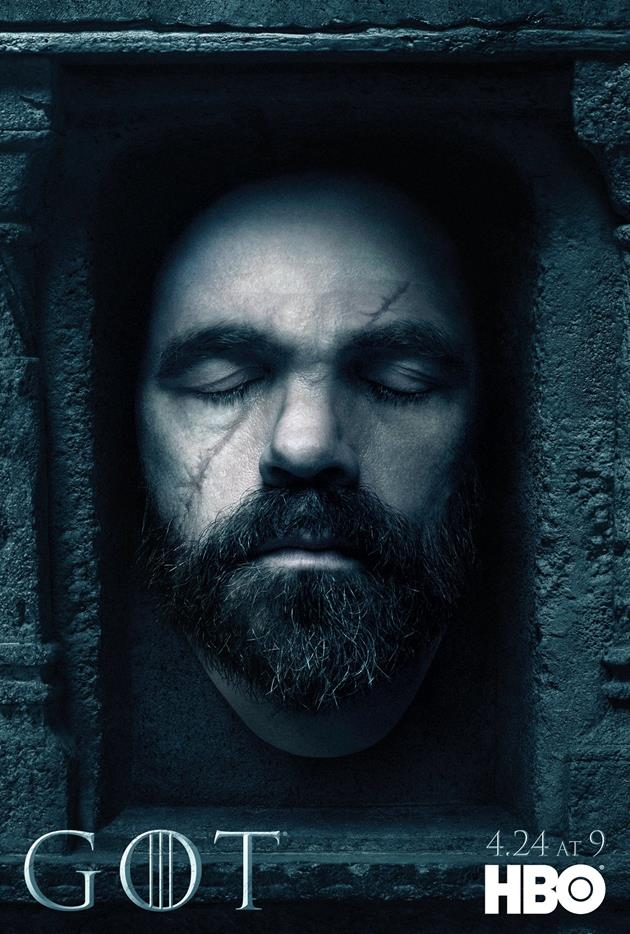 Affiche Promotionnelle - Tête de Tyrion Lannister