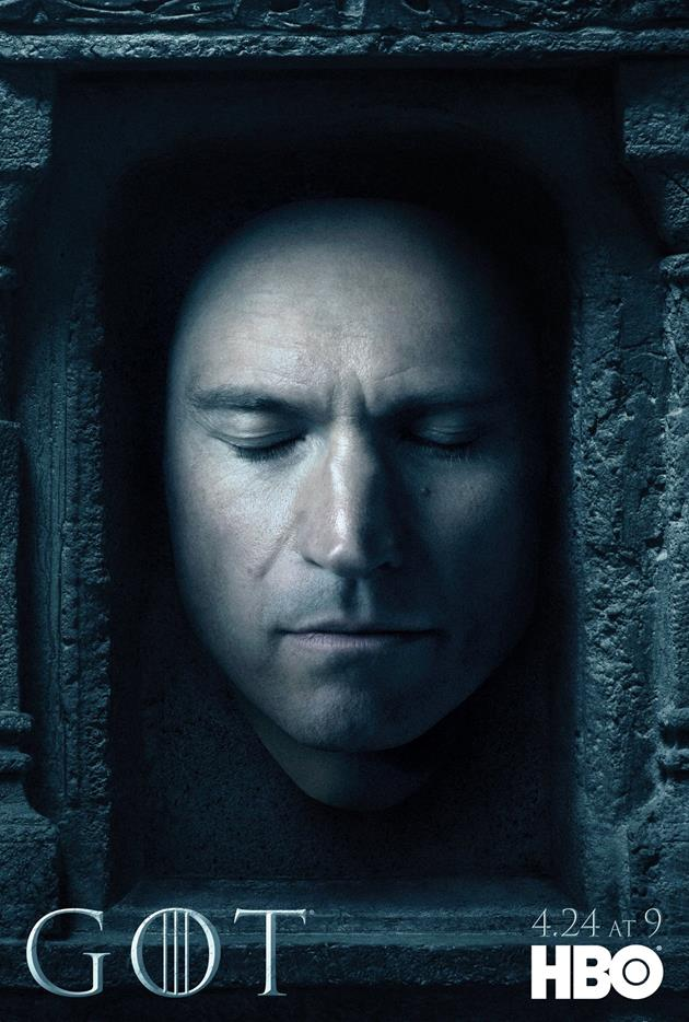 Affiche Promotionnelle - Tête de Jaime Lannister
