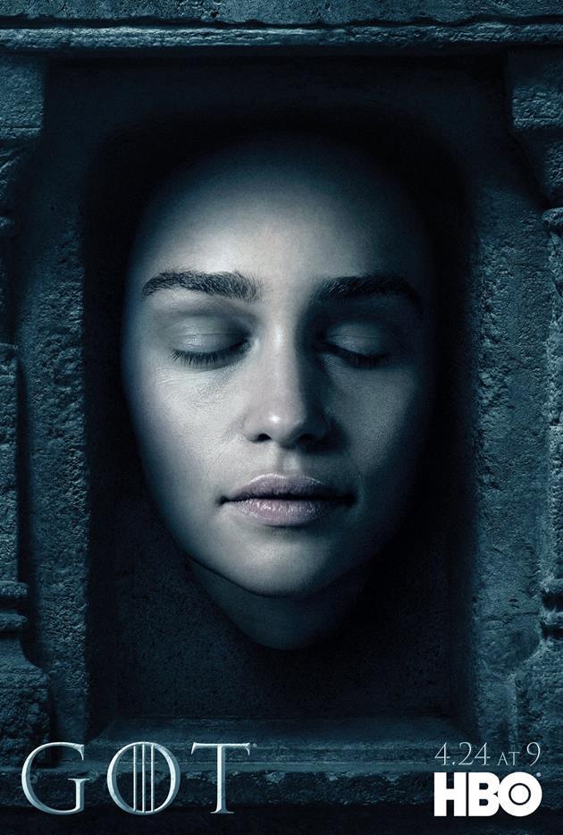 Affiche Promotionnelle - Tête de Daenerys Targaryen
