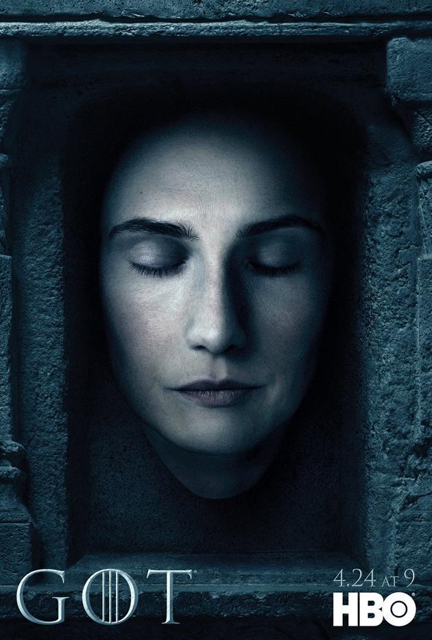 Affiche Promotionnelle - Tête de Melisandre