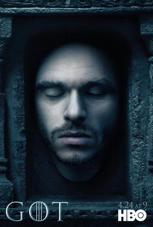 Affiche Promotionnelle - Tête de Robb Stark