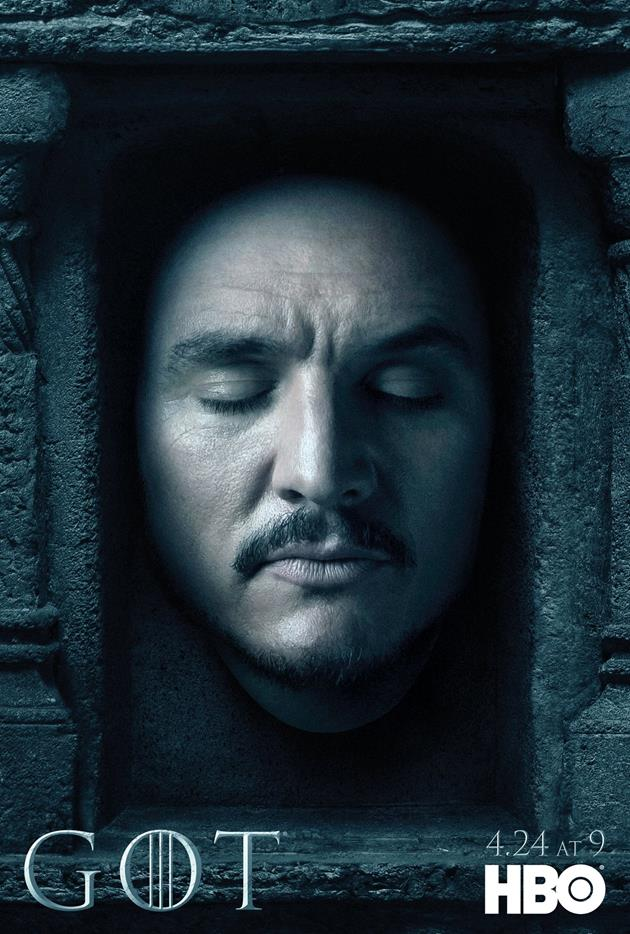 Affiche Promotionnelle - Tête de Bronn