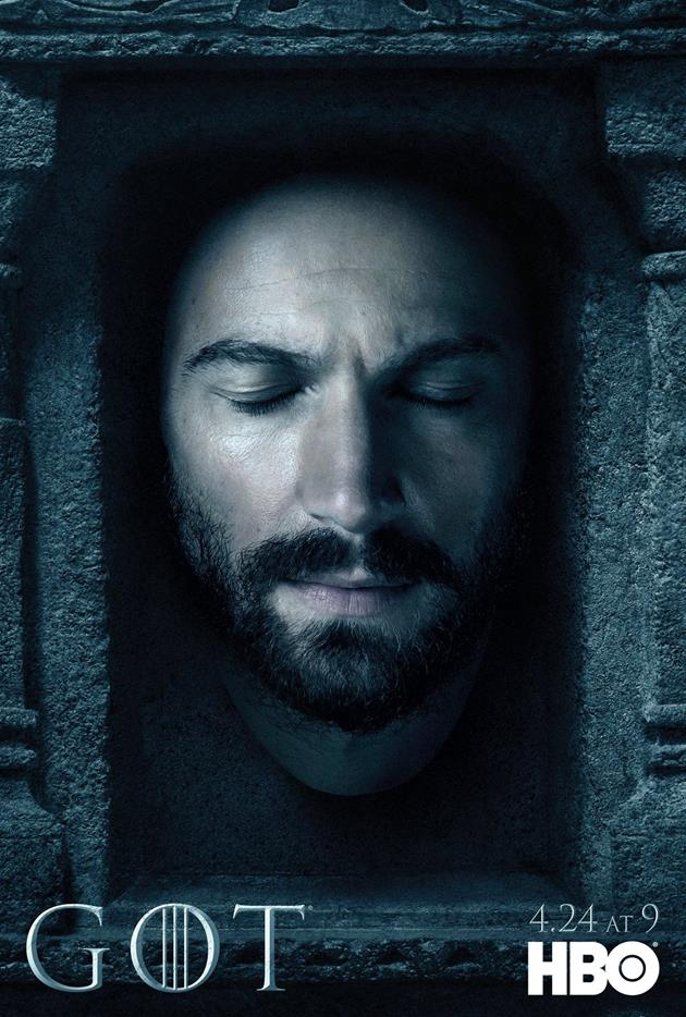 Affiche Promotionnelle - Tête de Daario